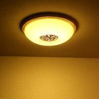 LED אקריליק קוריאני עץ מנורת LED. LED Light. אורות תקרה. LED תקרת אור. מנורת תקרה חדר אוכל חדר שינה מבואה