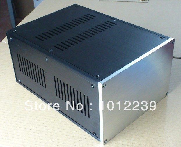 New aluminum amp chassis /home audio power amplifier case size 221.5mmX150mmX311mm 2017 aluminum power amplifier chassis home audio amplifier case size 245 180 259mm
