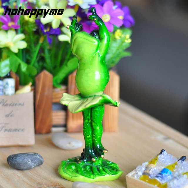 Character Flat Back Cute Frog Resin Manualidades For Home Decoration Garden  Ornaments Crafts Creative Character Flat