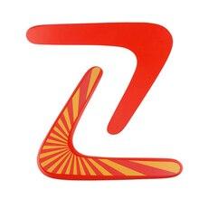 Профессиональный Деревянный бумеранг спортивная игрушка De Madera Bois Детская Игрушка Летающий Открытый V образный Бумеранг Дротика забавная тарелка