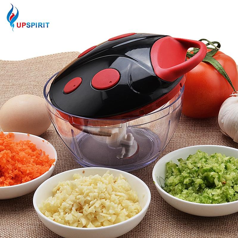 Upspirit Multifonction Légumes Cutter Chopper Trancheuse À Viande Manuel Moulin Oeuf Batteur En Acier Inoxydable Salade Maker Cuisine Outils