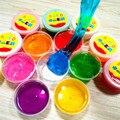 1 pcs barro lama de argila 24 cores brinquedos slime slime slime Engraçado Brinquedo pode soprando proteção ambiental não-tóxico bolhas de desenhar