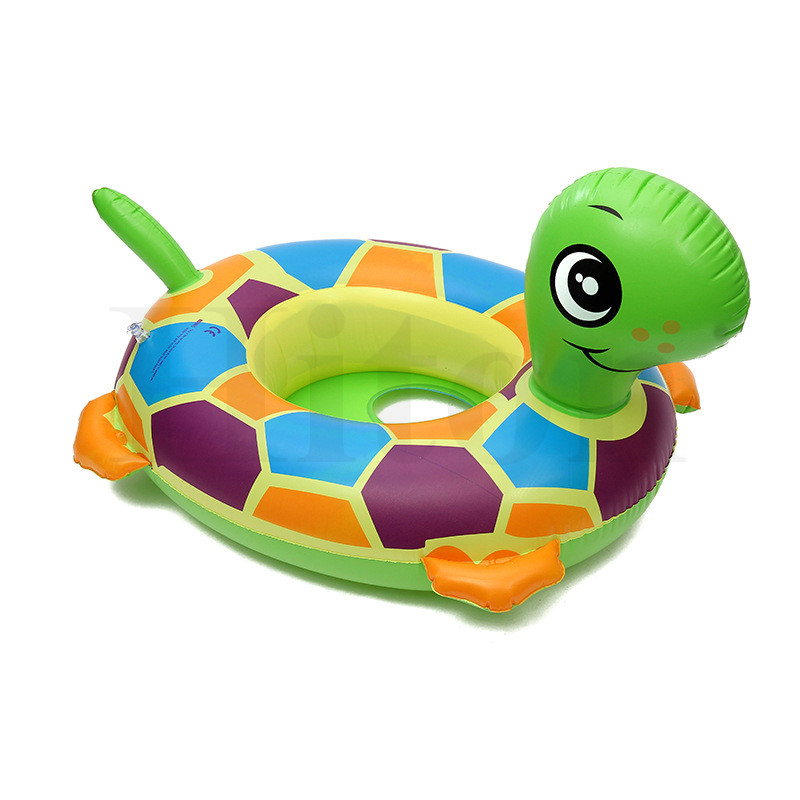 New tortoise Baby Child Kids Rubber Rings Inflatable Floating ...