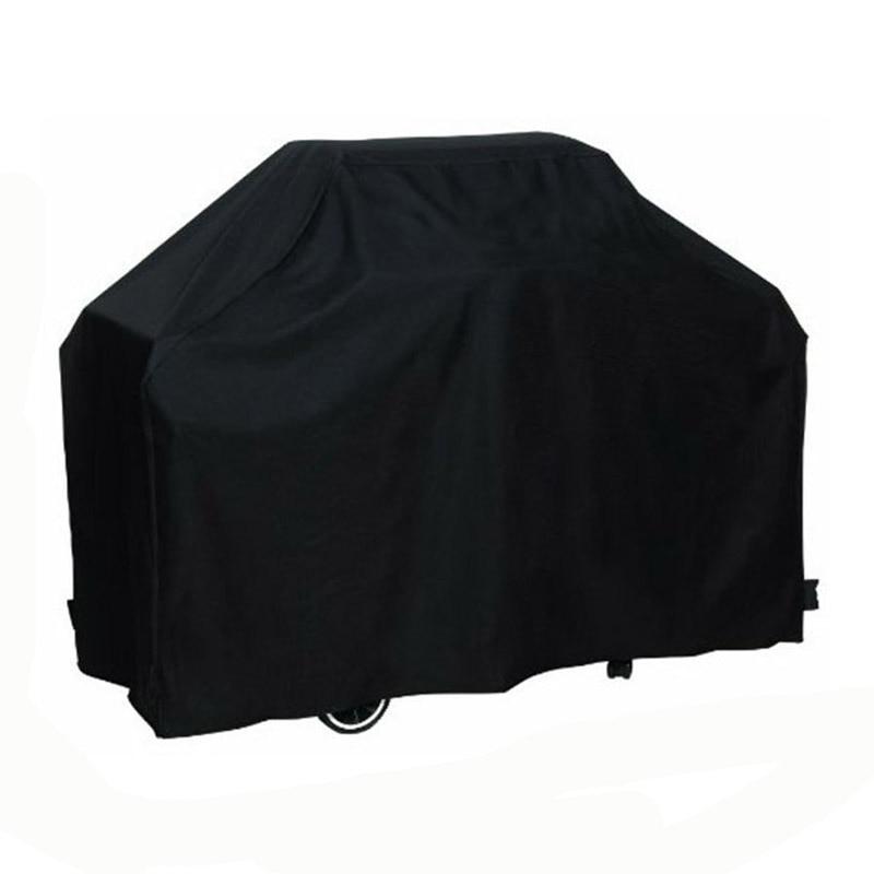 방수 바베큐 커버 145x61x117 센치 메터 야외 비 보호 가스 바베큐 그릴 커버 증거 바베큐 보호 쉴드 블랙