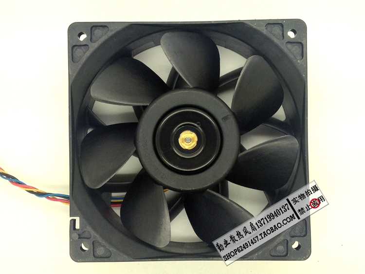Купить с кэшбэком for delta QFR1212GHE 12V 2.70A 12038 12CM Bitcoin Miner FAN 12cm PWM Most Powerful for Bitcoin Mining