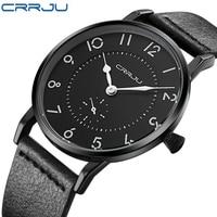 Zimowa wyprzedaż wyprzedaż mężczyźni zegarek kwarcowy zegarki sportowe męskie marki luksusowe Super slim, skórzana męski zegarek na pasku Relogio Masculino