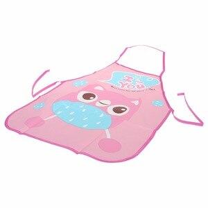 Image 5 - 1 セット子供エプロン袖子供絵画キッチン調理防水保護
