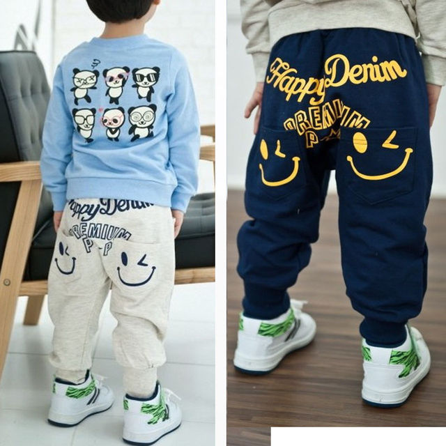 e566096cd7f7 New Fashion Baby Pants Spring Summer Autumn Camo Print Kids Harem ...