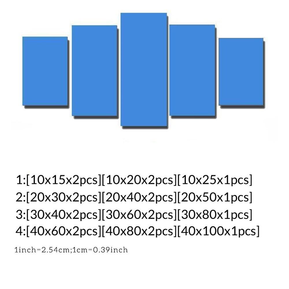 Πλαίσιο 5 τεμαχίων Μεγάλο ένα άνθρωπο - Διακόσμηση σπιτιού - Φωτογραφία 4