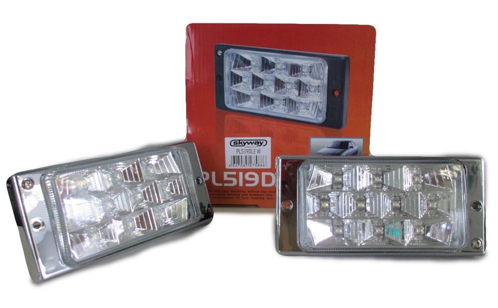 Fog lights for Lada 2110 2111 2112 2113 2114 2115 1 set Car accessories Styling Car Lights Decoration automotive lamp аксессуары на ваз 2111