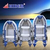 HIDER SD 330 см 0,9 мм надувная лодка из ПВХ резиновая Каяк Лодка алюминиевая скамейка надувная рыболовная лодка Китай рафтинг лодка