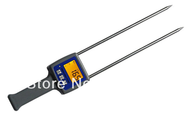 4 digital LCD Grain Moisture Meter tester for Barley Corn Rice Wheat digital multi grain moisture meter tester rice wheat rye peas corn oat 6 30% tk25g