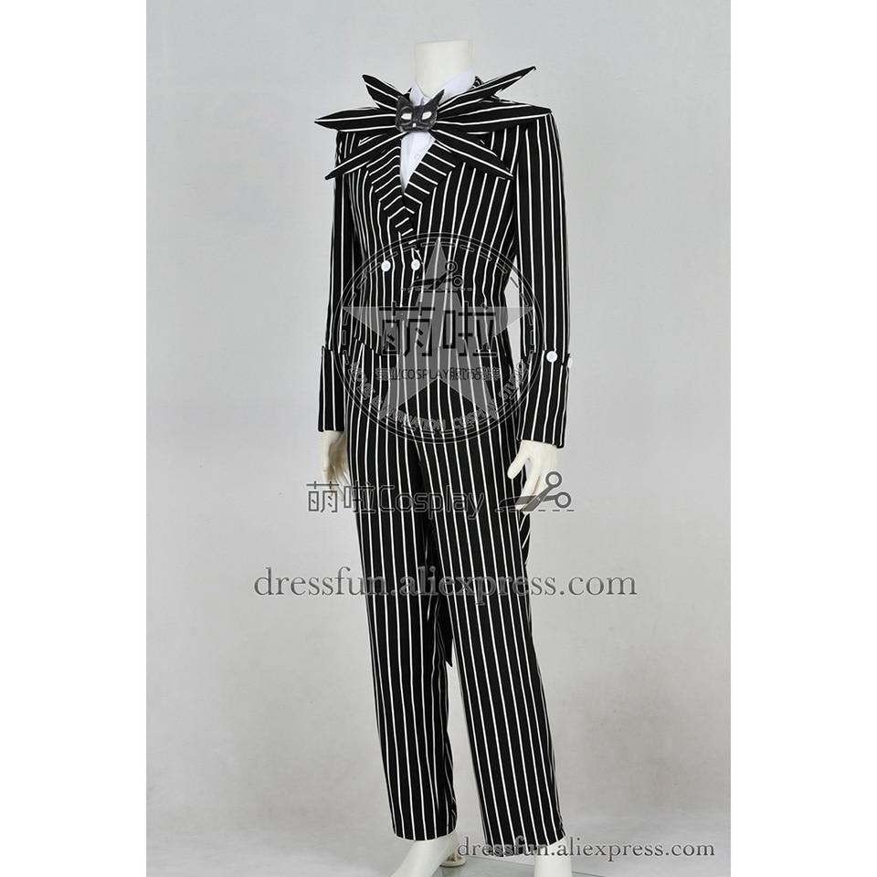 The Nightmare Before Christmas Cosplay Jack Skellington Costume ...