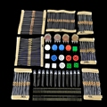Elecrow Electrónicos Resistor Kit para Arduino uno R3 Starter Kit de BRICOLAJE 20 Tipo Potenciómetro LED Interruptor Del Tacto 5 set/lot