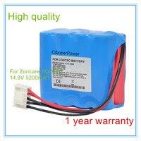 Vervanging Voor ZQ-1212 JHT-99F-00 ECG EKG Bewakingsmonitor Batterij