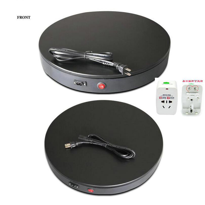 show turntable electric lazy susan swvel plate model_0001