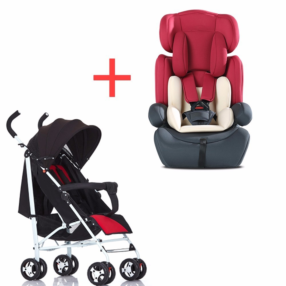 Children's car safety chair foldable for 9 months 12 years 9-36 kg baby 3C certification and trolley combination SY-YZ213- sweet years sy 6282l 07