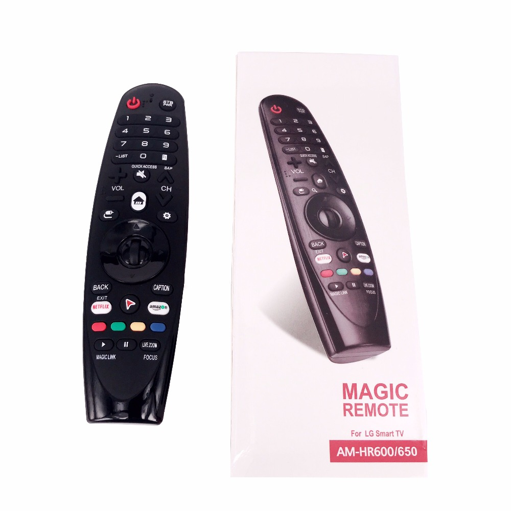 Image 3 - NEW AM HR650A AN MR650A Rplacement for LG Magic Remote Control for Select 2017 Smart television 55UK6200 49uh603v FernbedienungRemote Controls   -