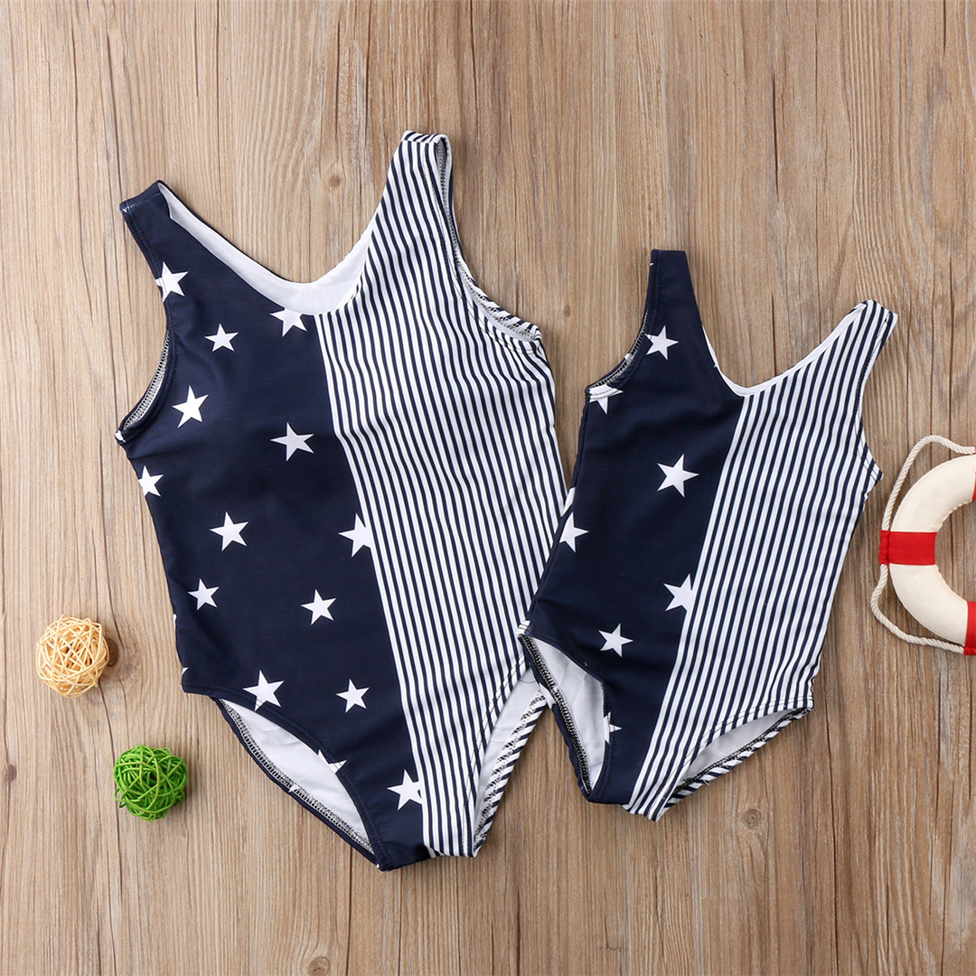 HTB1yGtipQ9WBuNjSspeq6yz5VXat 2019 mother daughter clothing Swimwear Summer Matching Mom and Daughter Clothes Women Swimsuit Beachwear Baby Girl Clothes Swimsuits