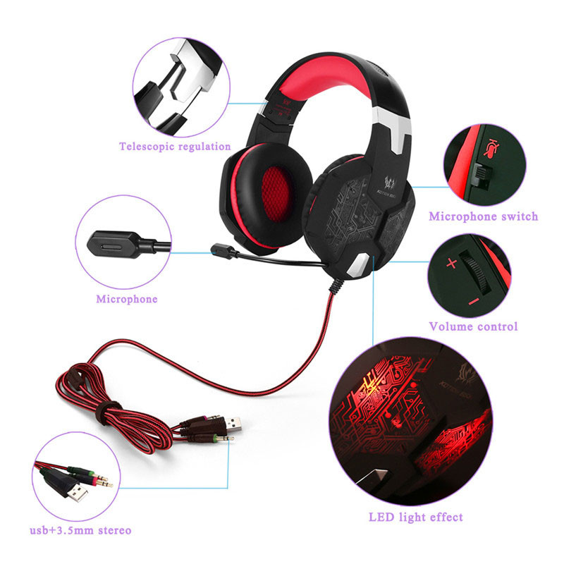 KOTION EACH Gaming Headset Gamer Headphone KOTION EACH Gaming Headset Gamer Headphone HTB1yGtkKVXXXXcJXpXXq6xXFXXXz