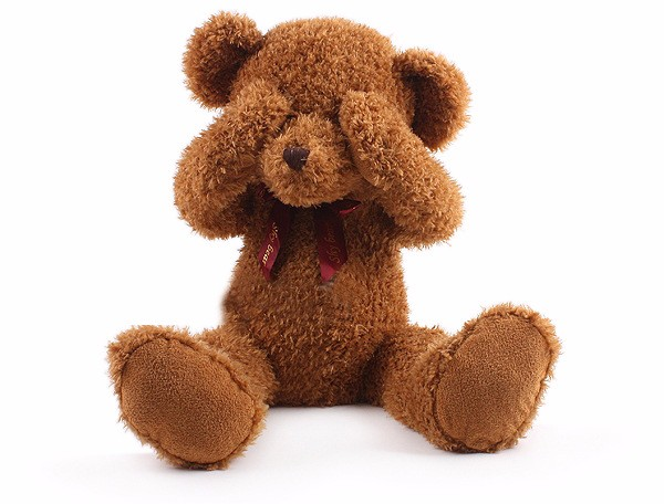 40 см Kawaii Teddy Bear PEEK A Boo застенчивый медведь Детские плюшевые игрушки высококачественные детские игрушки мягкие куклы для детей