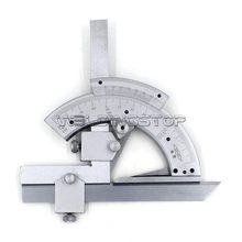Universal chanfro transferidor 320 graus angular dial aço inoxidável ângulo calibre