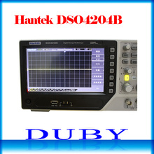 Hantek DSO4204B usbデジタルストレージオシロスコープ4アナログチャンネル200mhzの帯域幅1gsa/sレコード長64 18k AC110 220V