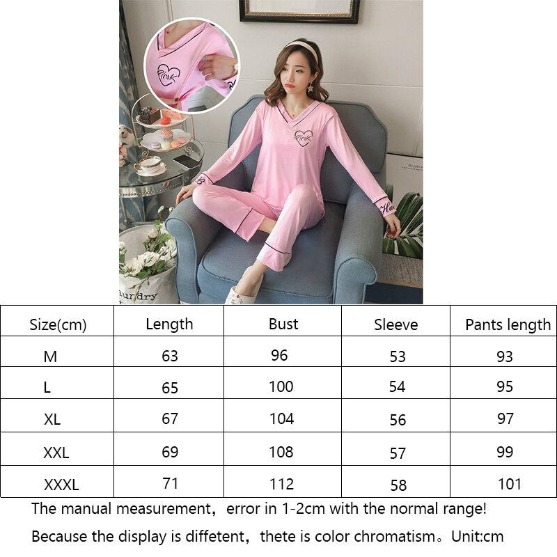 de Manga Longa Conjuntos de Pijama de Enfermagem