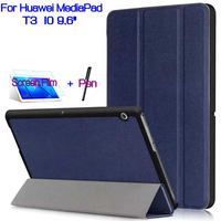 AIYOO Magnetic Stand PU Leather Cover Shell Funda Case For Huawei MediaPad T3 10 9 6