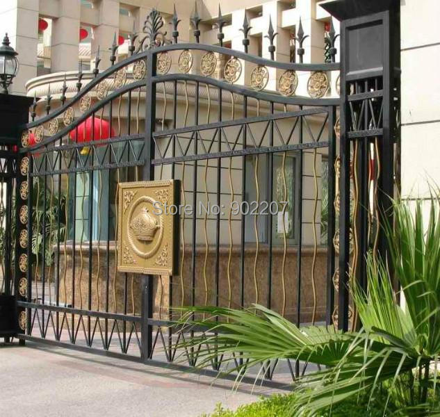 New Design Wrought Iron Gates Wrought Iron Gate For Home Villas In