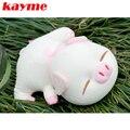 Kayme Cerdo de Adsorción de Olor Bolsa de Carbón de Bambú Ambientador de Aire Del Coche Nuevo Coche Auto Del Filtro de Aire Muñeca Olor Desodorante