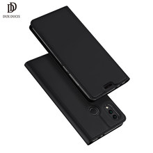 "DUX DUCIS Flip Cover for Huawei Honor 8C Case for HONOR 8c Leather Protective Fundas Phone Capa Honor 8 C 6.26"" Case(China)"