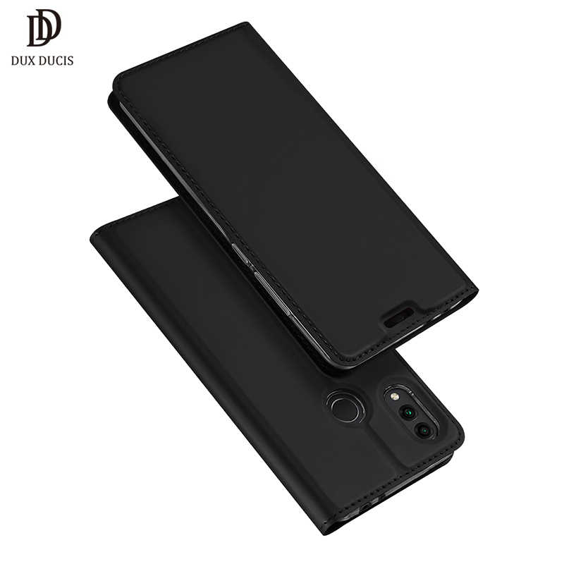 """DUX DUCIS Flip Cover for Huawei Honor 8C Case for HONOR 8c Leather Protective Fundas Phone Capa Honor 8 C 6.26"""" Case"""