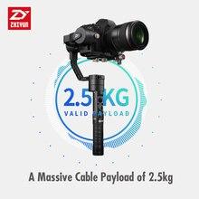 Zhiyun кран плюс 3 оси ручной карданный Стабилизатор Для беззеркальных подставка для цифровой зеркальной камеры 2,5 кг POV режим Джи Осмо мобильный 2