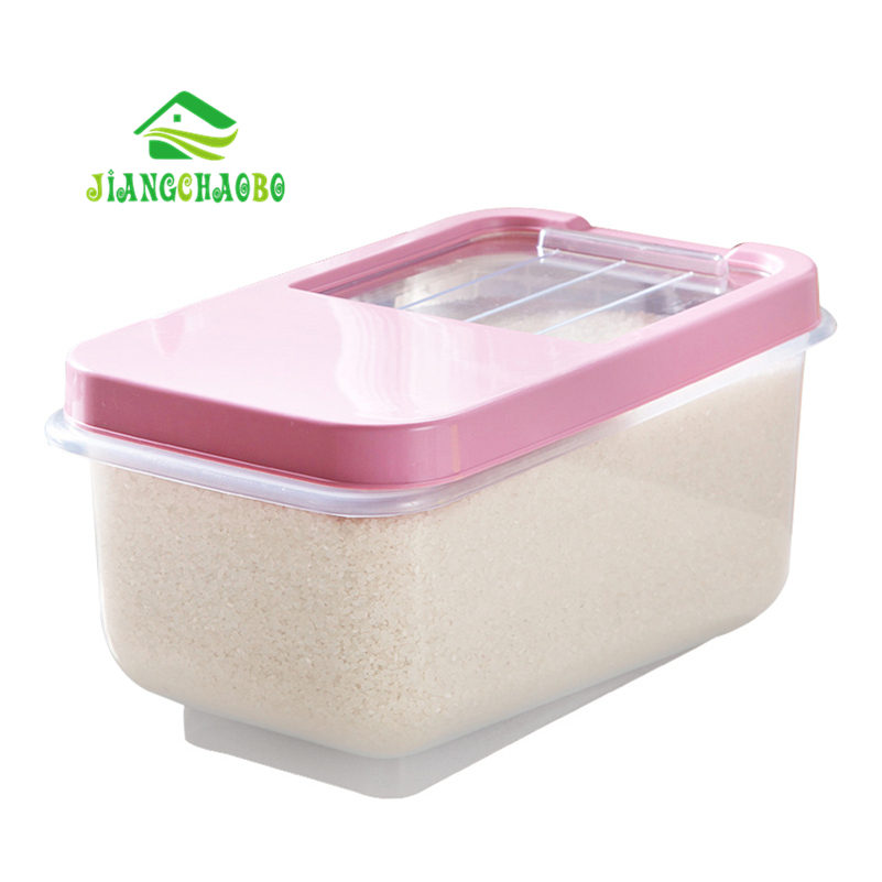 Kitchen Storage Organizer 10KG Grain Storage Container Rice Box