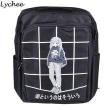 Личи мода плед печатных мешок Для женщин холст рюкзак школьный для подростка Обувь для девочек Повседневное сумка