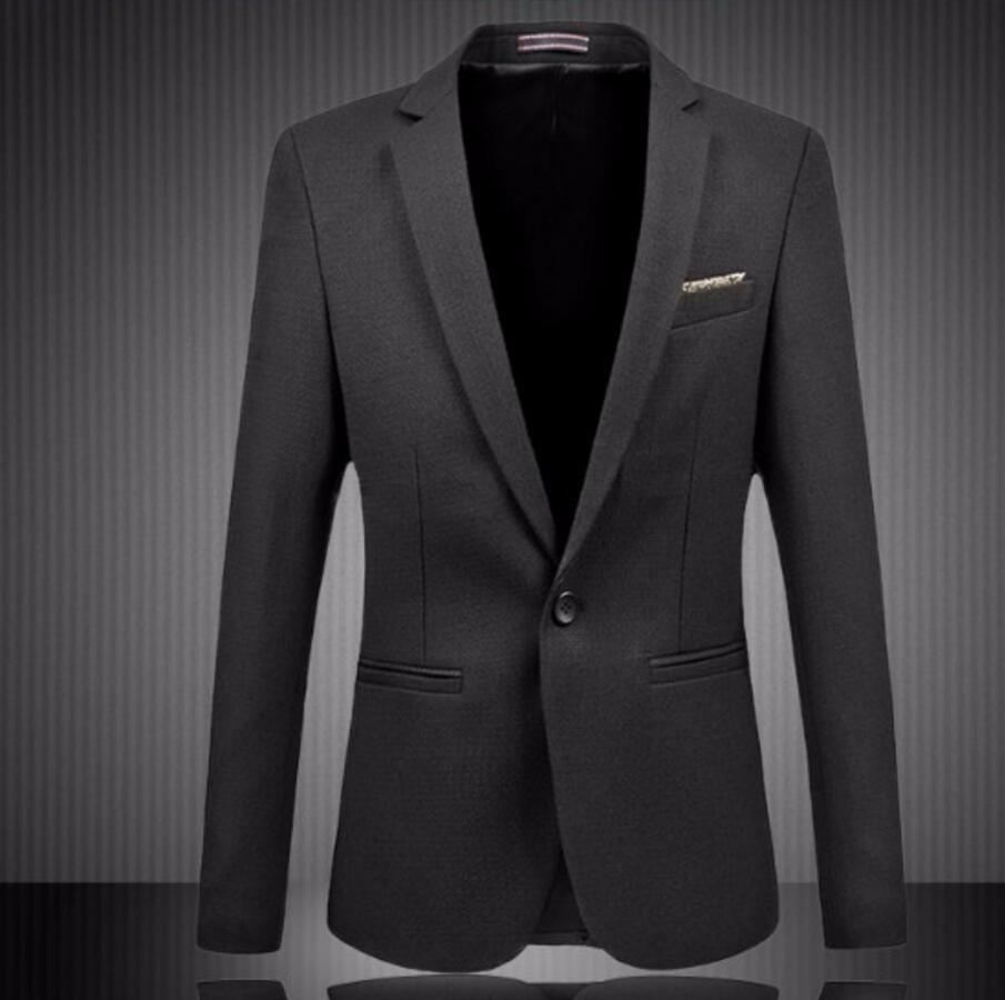 32.1 Men\'s Suit Jackets Fashion Business One Button Casual Blazer Suit Slim fashion style leisure friends party men suit jacket