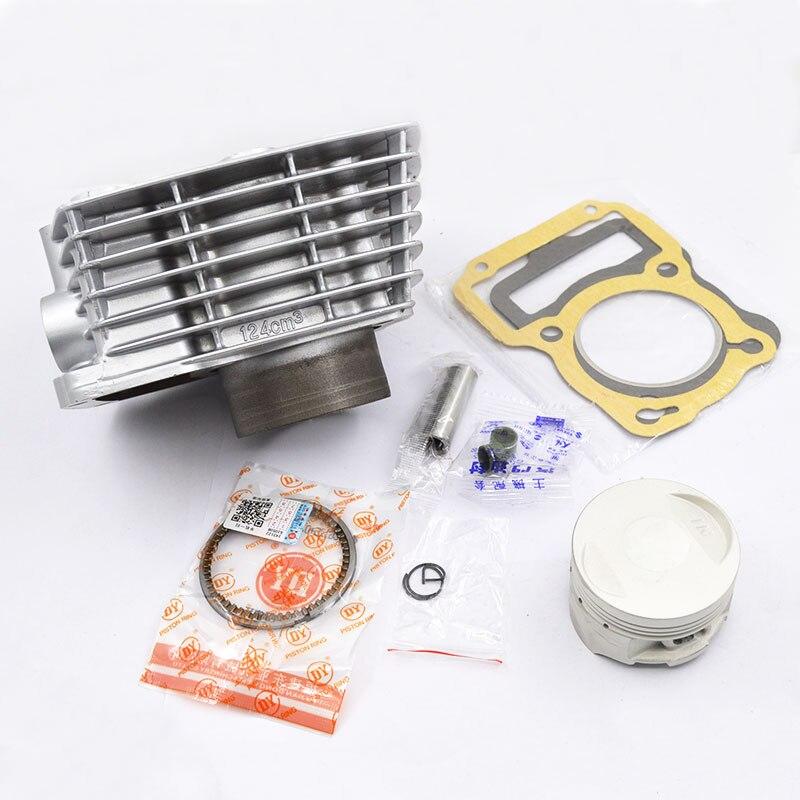 Moto Cylindre Piston Ring Joint Kit STD 62mm Big Bore pour Honda XR125L XR 125 L 2003-2011 NXR125 NXR 125 BROS 2003-2006