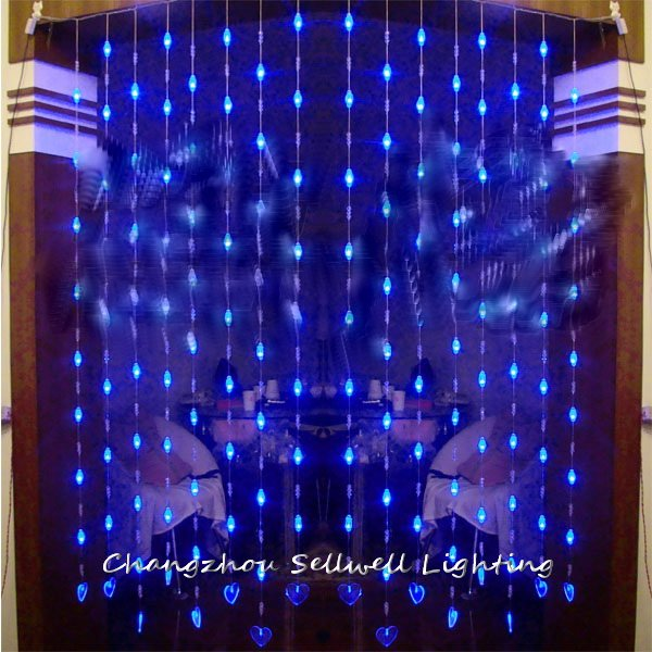 2018 Navidad Christmas Tree Good!led Holiday Lighting Showcase Decoration Door Curtain Separate 128pcs Bead Shape Of Lamp H189