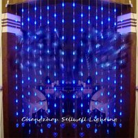 2018 Navidad Christmas Tree Good!led Holiday Lighting Showcase Decoration Door Curtain Separate 128pcs Bead Shape Of Lamp H189