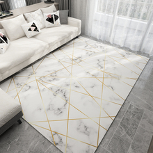 Nordic Style Geometric Marble Pattern Carpet Living Room Rug Sofa Coffee Table Mat Bedroom Yoga Pad Rectangular Bedside Blanket living room coffee table simple modern nordic style carpet home sofa rectangular machine washable bedroom bedside mat