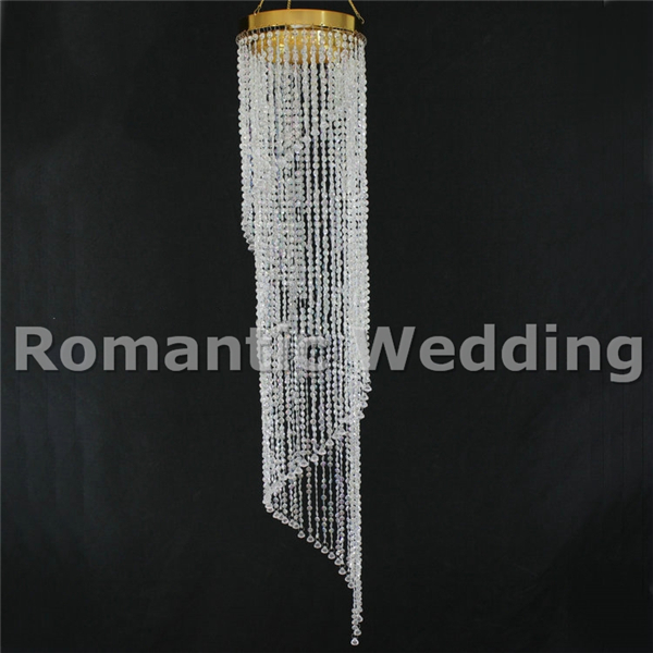 Free shipment 10pcslots spiral waterfall hanging wedding chandelier free shipment 10pcslots spiral waterfall hanging wedding chandelier for wedding decoration event party decoration junglespirit Choice Image