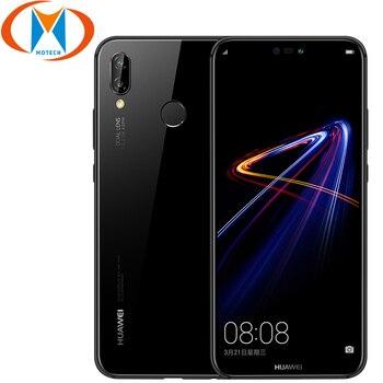Huawei Nova 3e Android 8.0 5.84 Inch Octa core Mobile Phone 4GB RAM 64GB 128GB ROM 24MP 16MP 3000mAh Battery 4G LTE Smartphone