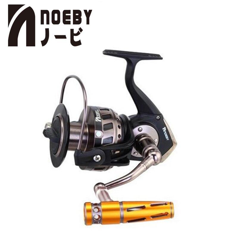 NOEBY moulinet De pêche 4.1: 1 INFINI 7000/9000 Moulinets Carpe moulinet à tambour De Pêche Pesca Carretes De Pescar D'alimentation Bobine