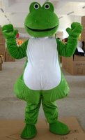 ohlees frog mascot costumes adult size Halloween party fancy dress for sale custom made a004