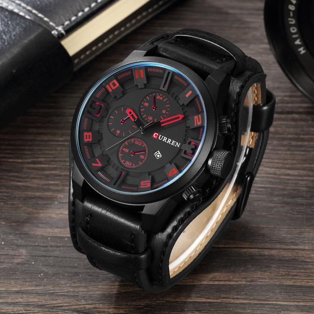 Mens Casual Military Sport Quartz Watch
