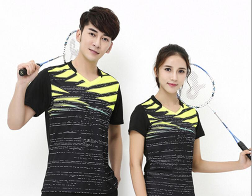 Jersey T-Shirts Badminton Table-Tennis Unisex Couples Game-Training And Sport New