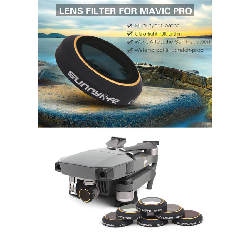 Snap-op Filters Set 6 Stks ND4 / 8/16/32 CPL Circulaire Polarisator - Camera en foto - Foto 6