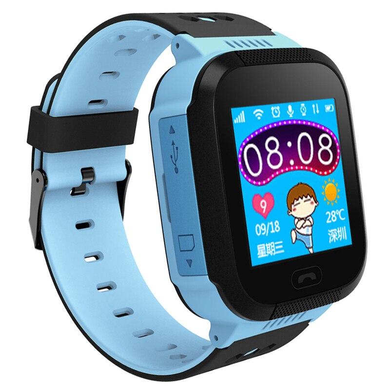 BANGWEI Smart Watch Child Baby Watch SOS Call Location Finder Tracker Anti-Lost Remote Monitor Children's Waterproof Watch +Box