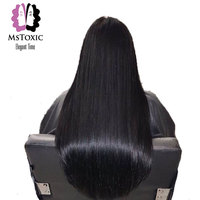 Mstoxic Peruvian Hair Natural Wave Machine Double Weft Remy Hair 100 Human Hair Bundles 8 28inches